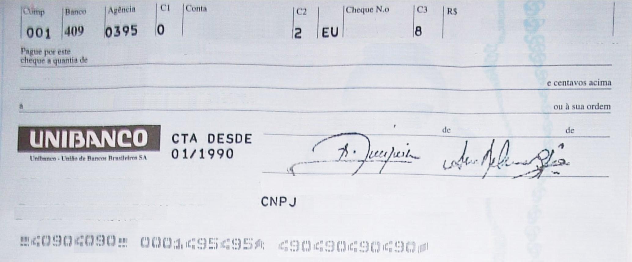 Cheque Da Abundancia